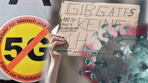 Frau protestiert gegen Maskenpflicht (Foto: Imago, imago images / ZUMA Wire)