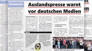 Press Watch: Fake News Artikel über deutsche Medien (Foto: Screenshot Facebook)