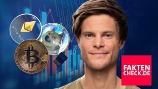 Mit Bitcoin, Dogecoin und Co. schnell Geld machen? (Foto: SWR3, Shutterstock/Pixabay)