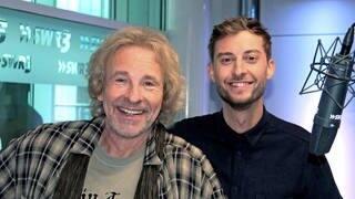 Thomas Gottschalk und Constantin Zöller (Foto: SWR/Markus Vogt)