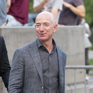 Amazon-Gründer Jeff Bezos (Archiv) (Foto: Imago, imago images / Pacific Press Agency)
