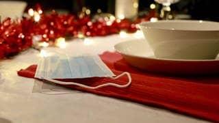 Corona und Weihnachten (Foto: dpa Bildfunk, picture alliance/Richard Brocken/ANP/dpa)