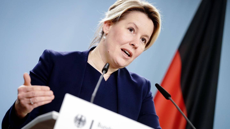 Bundesfamilienministerin Franziska Giffey (SPD) (Foto: dpa Bildfunk, picture alliance/dpa | Kay Nietfeld)