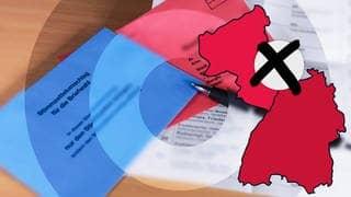 Was macht die Corona-Pandemie mit den Landtagswahlen in Baden-Württemberg und Rheinland-Pfalz? (Foto: Imago, IMAGO/foto2press/Montage: SWR3)