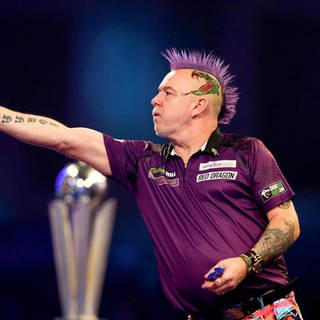 Peter Wright ist Darts-Weltmeister 2020 (Foto: picture alliance/Steven Paston/PA Wire/dpa)