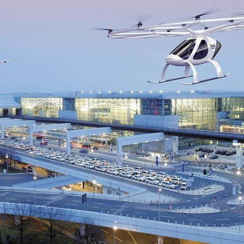 Flugtaxi (Foto: picture alliance/Andreas Meinhardt/Fraport/dpa)