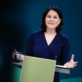 Annalena Baerbock (Grüne) (Foto: dpa Bildfunk, picture alliance/dpa | Kay Nietfeld)