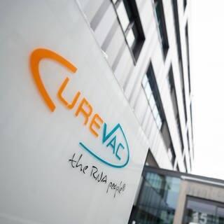 Die Curevac-Zentrale in Tübingen (Foto: dpa Bildfunk, picture alliance/dpa   Sebastian Gollnow)