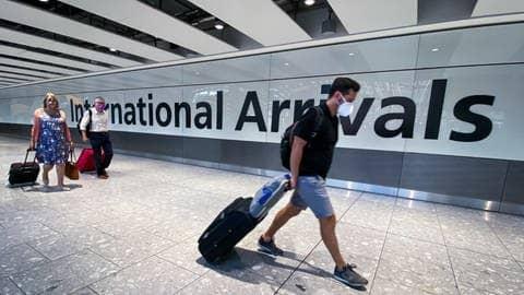 Die Einreise nach England soll für Geimpfte ab Oktober erleichtert werden.  (Foto: dpa Bildfunk, picture alliance/dpa/PA Wire | Aaron Chown)