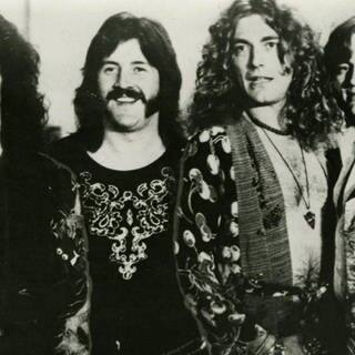 Led Zeppelin - 1975 (Foto: Swan Records - Warner)