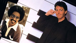 Paul McCartney & Stevie Wonder - Ebony And Ivory (Foto: Parlophon - EMI)