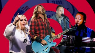 Lady Gaga, Dave Grohl, Bruce Springsteen, John Legend (Foto: picture-alliance / Reportdienste, Picture Alliance)