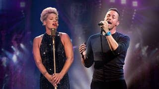 Pink und Coldplay-Sänger Chris Martin (Foto: picture-alliance / Reportdienste, Picture Alliance)
