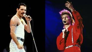 Queen & David Bowie - Under Pressure (Foto: dpa (Freddie Mercury) & imago (David Bowie))
