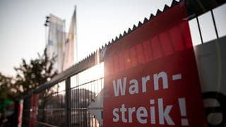 Warnstreiks (Foto: picture-alliance / Reportdienste, Picture Alliance)