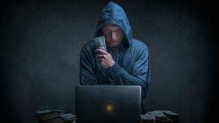 Hacker Erpresser (Foto: picture-alliance / Reportdienste, Picture Alliance)