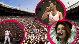 Live Aid: Konzert am 13.7.1985 (Foto: picture-alliance / Reportdienste, Picture Alliance)