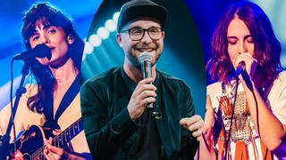 Lola Marsh, Alice Merton und Mark Forster beim New Pop Festival (Foto: SWR3)